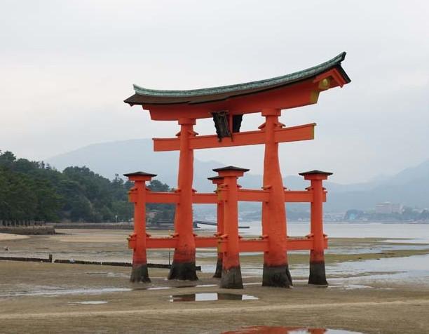 安芸の宮島 日本