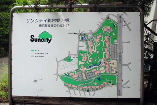 サンシティのマップ