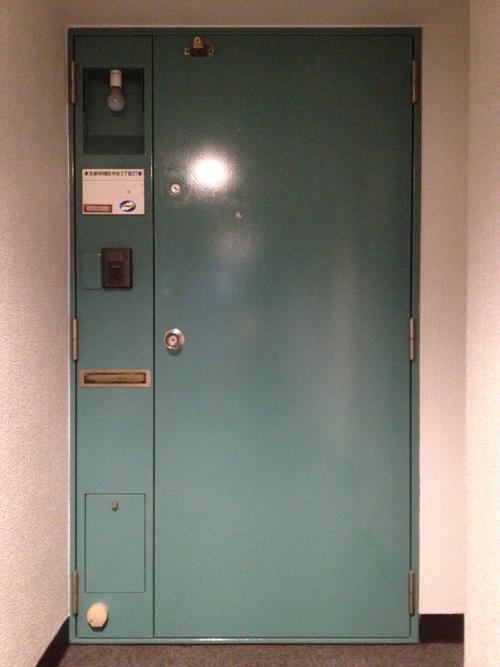 サンシティの玄関ドア