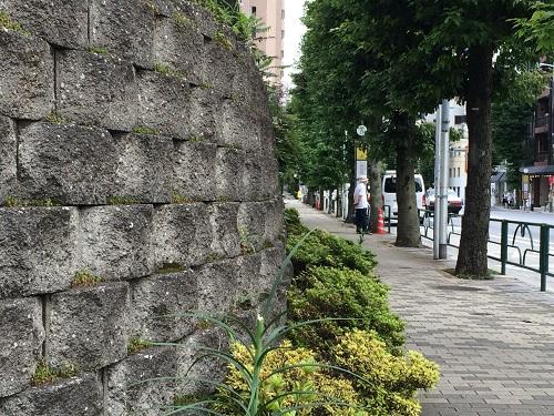 霞ヶ丘団地石垣