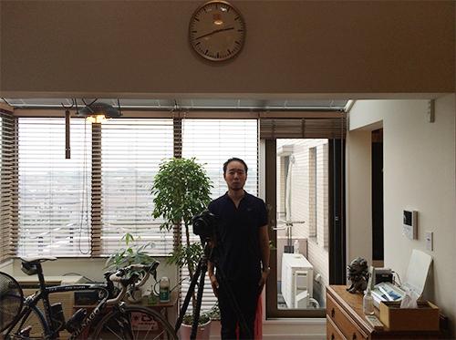 吹き抜けとサンルームのあるお部屋、お引っ越し後の撮影会