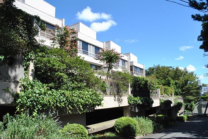 自然の中の集合住宅 大倉山ヒルタウン