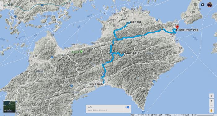 桃源郷祖谷の里地図