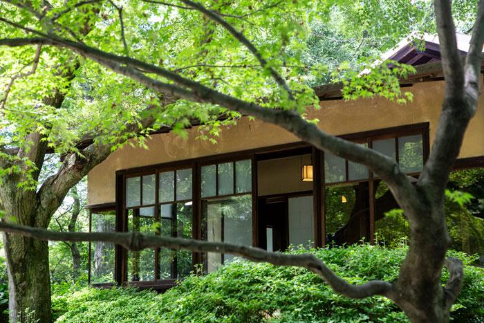 日本最古のパッシブ住宅ー聴竹居―